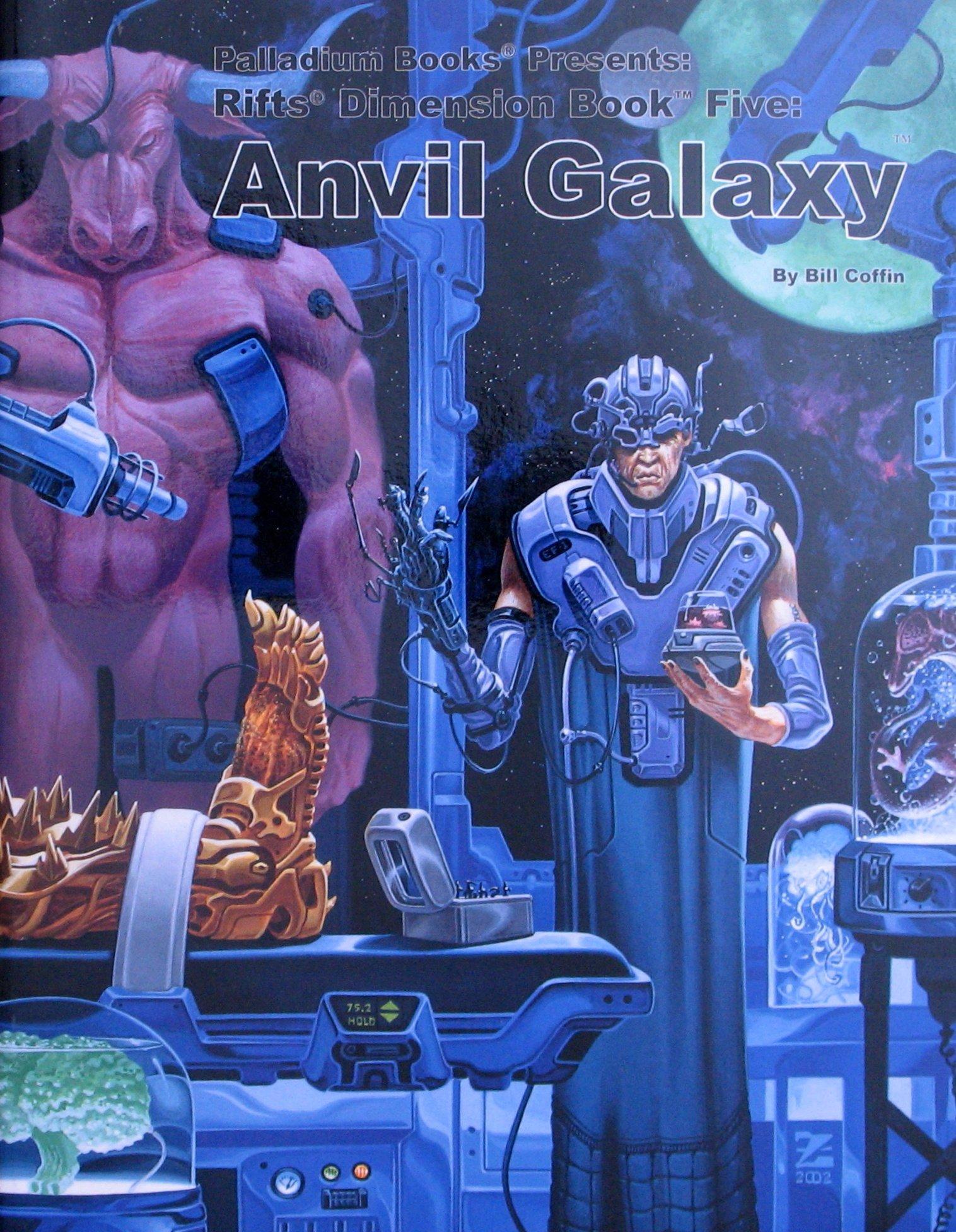 Download Rifts Dimension Book Five : Anvil Galaxy pdf epub