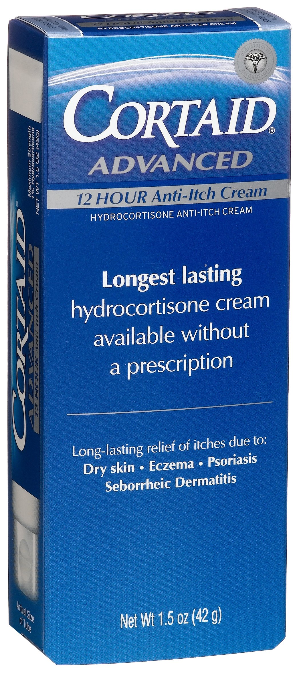 Cortaid Advanced 12 Hour Anti-Itch Cream, 1.5-Ounce Tubes (Pack of 3)