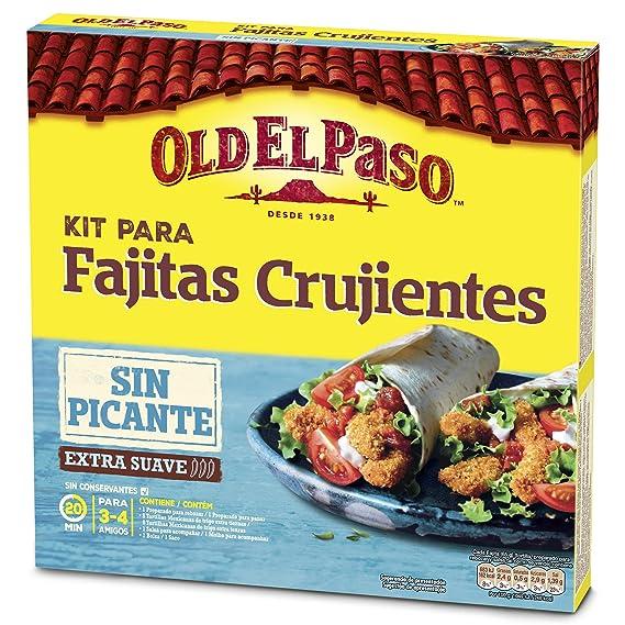 Old El Paso - Kit Para Fajitas Crujientes ¡Ay, Que No Pica! 521