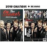 Rolling Stones Calendar 2019 + Rolling Stones Keychain
