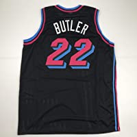 $49 » Unsigned Jimmy Butler Miami Black City Vice Custom Stitched Basketball Jersey Size Men's XL New No Brands/Logos