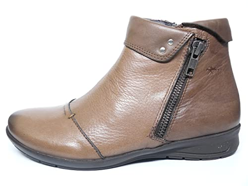 Botines mujer DORKING-FLUCHOS - Piel color Marmota - 8887 - 51: Amazon.es: Zapatos y complementos