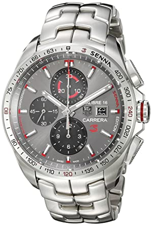 6dd6effe3f7 Image Unavailable. Image not available for. Color: TAG Heuer Men's 'Carrera  Senna' Swiss Automatic ...