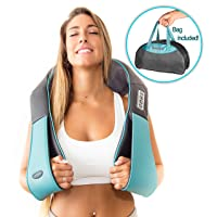Deals on InvoSpa Shiatsu Back Neck and Shoulder Massager w/Heat
