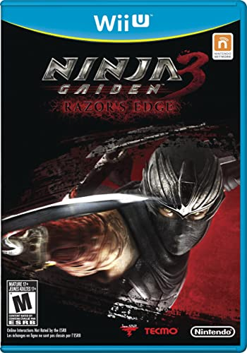Amazon Com Ninja Gaiden 3 Razor S Edge Nintendo Wii U