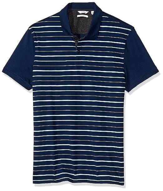Calvin Klein Polo para Hombre  Amazon.com.mx  Ropa 0ec13fe168bf5