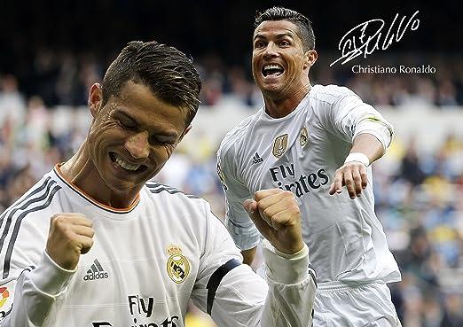 Cristiano Ronaldo #37 - - de motivación con imagen firmada por ...