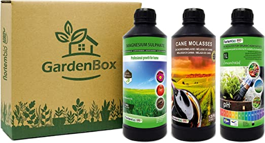 NortemBio Garden Box. Pack para Huerto Urbano. Reductor de pH ...