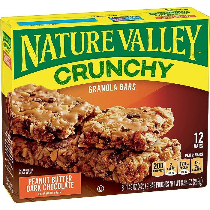 Top 8 Nature Valley Granola Bar Peanut Butter Dark Chocolate