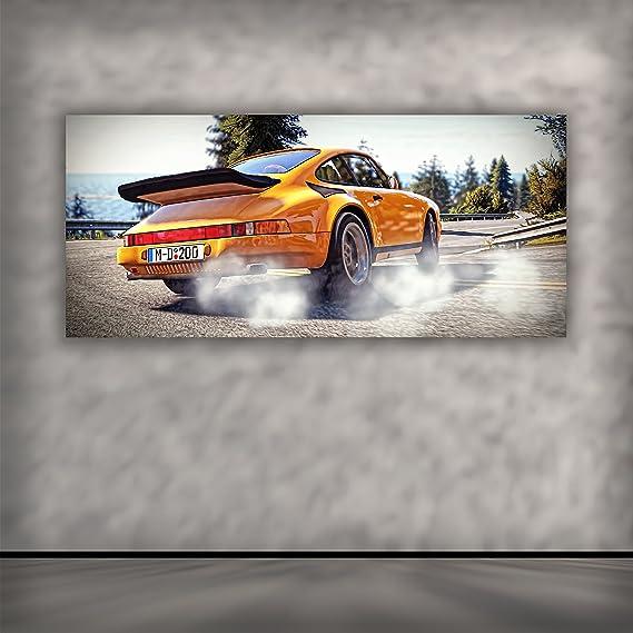 Dekoration Uniquewall Alu Dibond Grosses Wandbild Uv Hochglanz Porsche 911 Gt2 170x70 Cm Mobel Wohnen Raizlatina Com Br