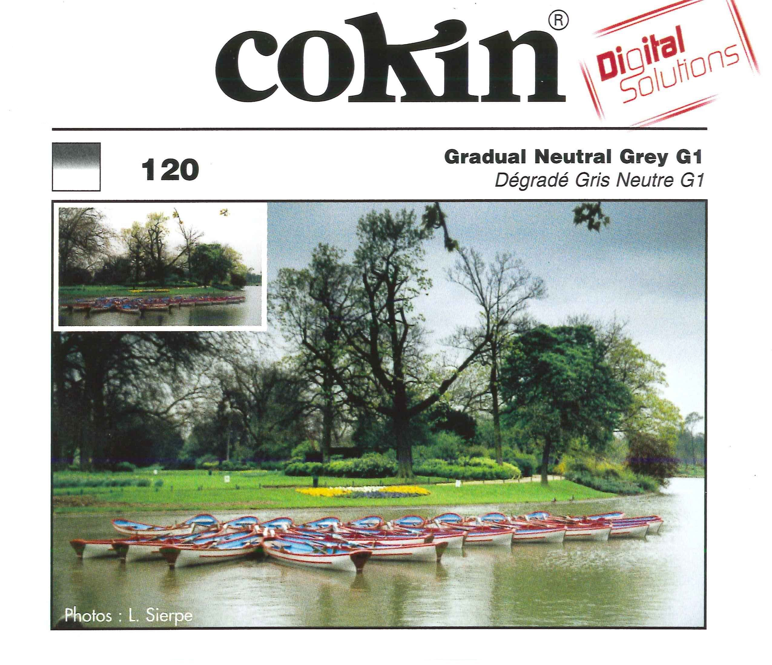 Cokin Creative Filter A120 G1 Grey Graduated by Cokin
