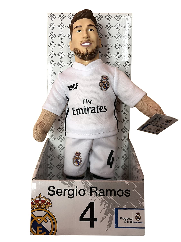 6d1795db52fa8 Producto Oficial Real Madrid CF Muñeco Real Madrid CF 2018-2019 Peluche -  25cm - Sergio Ramos 4  Amazon.es  Deportes y aire libre