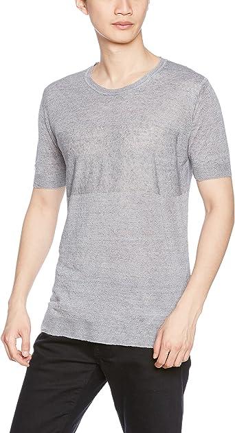 Diesel K-Leo Hombre Camisa Manga Corta (L, Gris): Amazon.es: Ropa y accesorios
