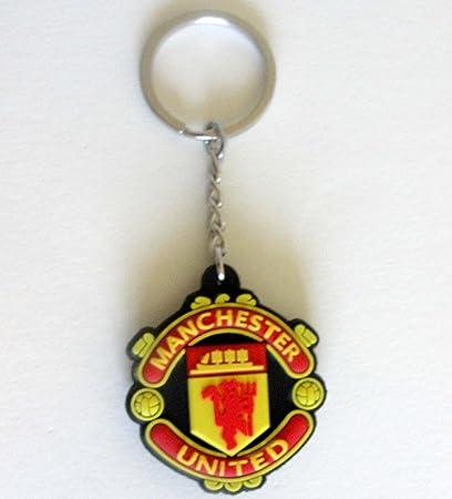 Amazon.com: Manchester United FC – Goma logotipo de fútbol ...