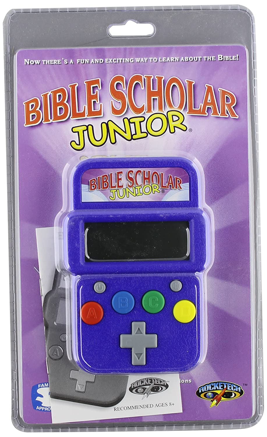 【サイズ交換OK】 Rocketech Bible Scholar Junior Electronic Hand-Held Game B002LZUR2I, ミズナミシ b6adada7