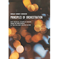 Principles of Orchestration (Dover Books on Music) book cover