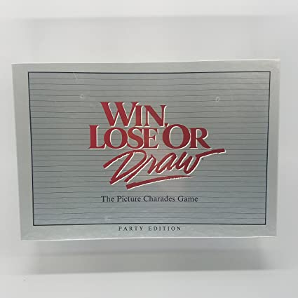 picture relating to Printable Win Lose or Draw Phrases known as Gain, Reduce or Attract - Celebration Version (1988)