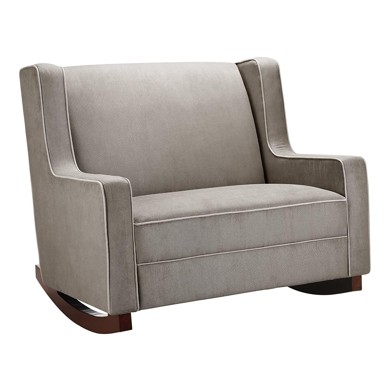 baby relax double rocker dark taupe - Swivel Rocker Chairs For Living Room