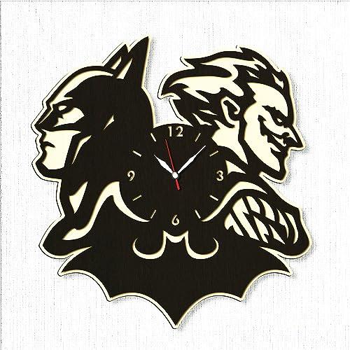 Batman Large Wood Clock 20″