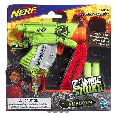 Nerf Zombiestrike Clampdown: Toys & Games