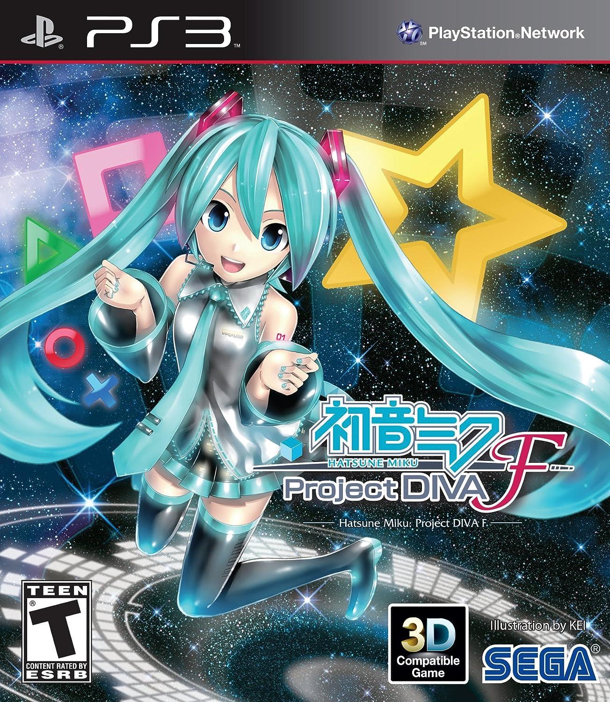 amazon com hatsune miku project diva f playstation 3 video games