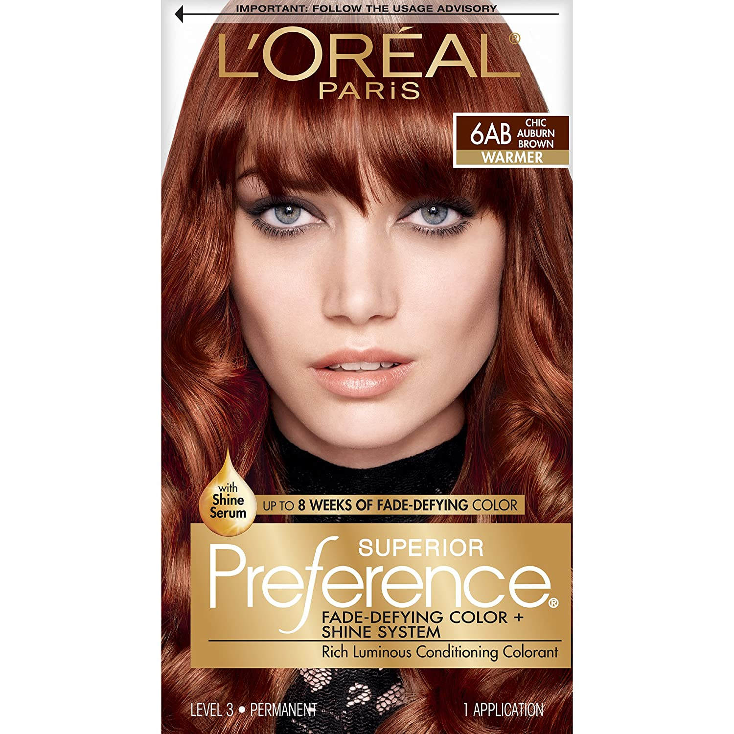 The look at home using l oreal paris feria smokey pastels in p2 smokey - Buy Preference Chic Auburn Brown 1 Count L Oreal Paris Superior Preference Fade Defying Color Shine System 6ab Chic Auburn Brown Packaging May Vary