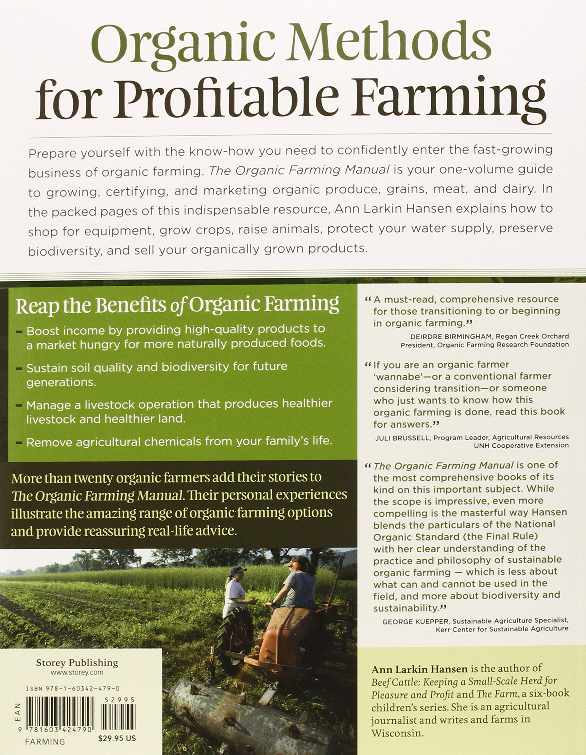 the organic farming manual a comprehensive guide to starting and
