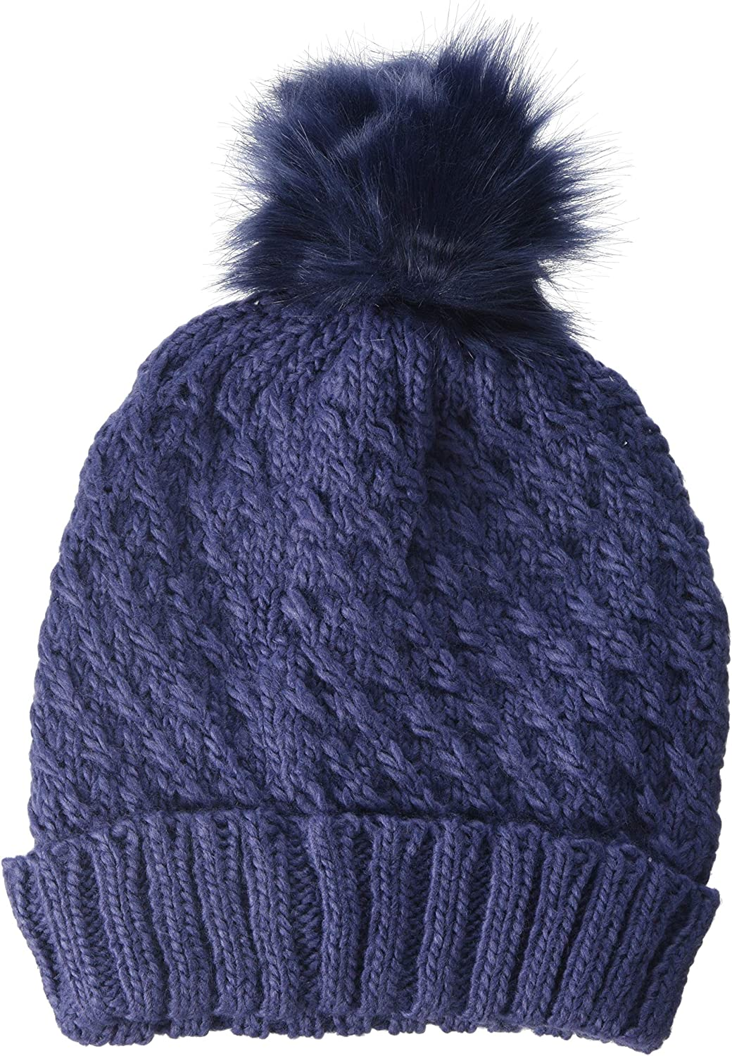 Roxy Blizzard Gorro de Punto, Mujer, Azul (Crown Blue BQY0), One ...