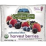 Cascadian Farm Organic Harvest Berries, 10 Ounce -- 12 per case.