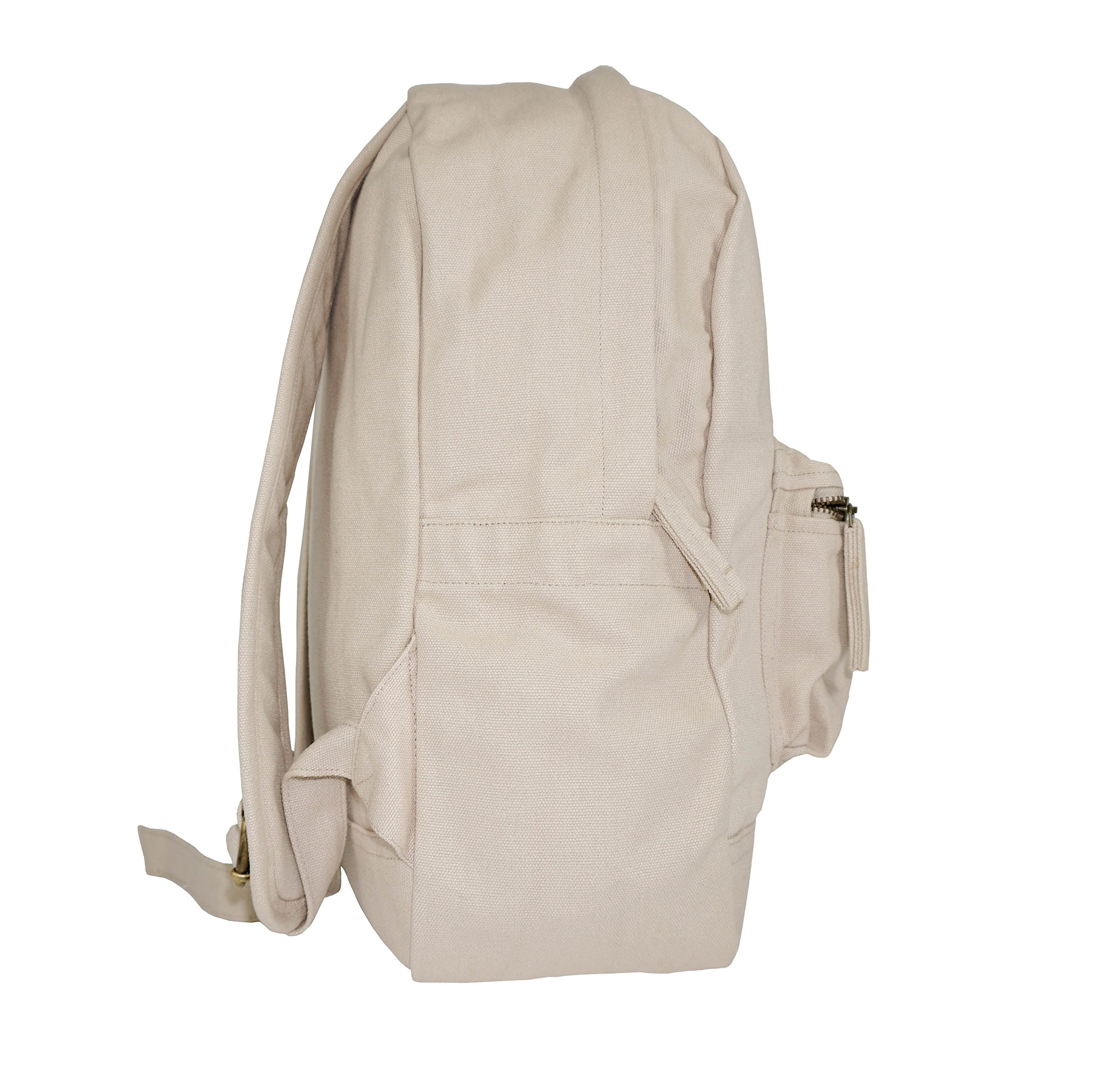 GOTS & Fair Trade certified. Environmental friendly backpack for men and women. by Terra Thread (Image #2)