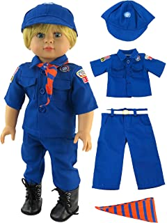 8e40f92d7 Cub Scout Boy Scout Outfit for 18 Inch Dolls | Fits 18