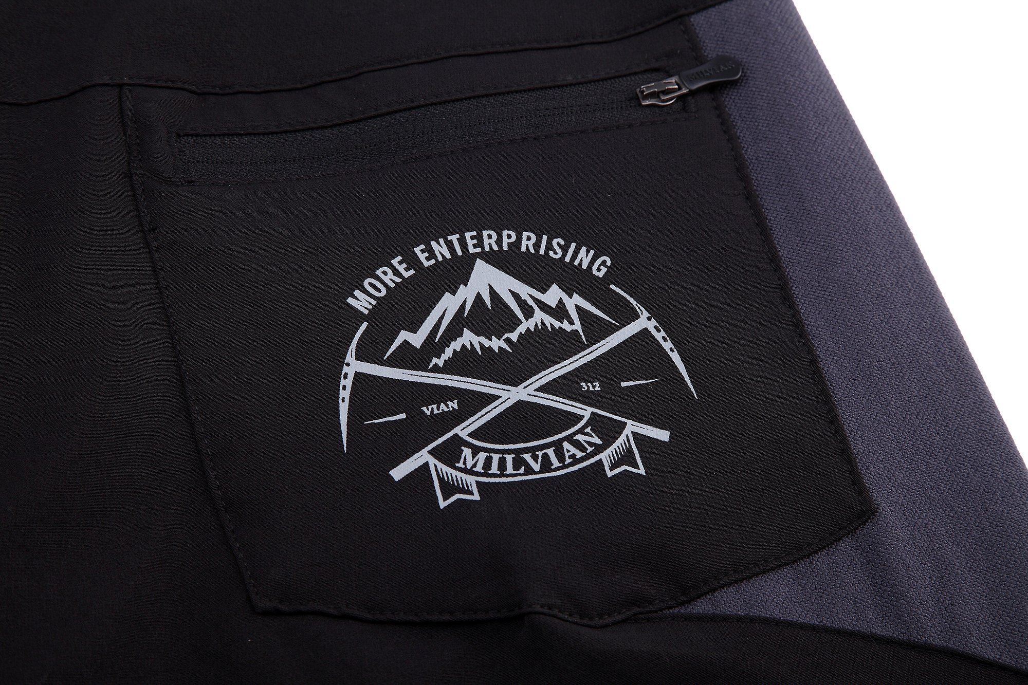 Diamond Candy Women Hooded Front-Zipper Multifunctional Waterproof Lightweight Outdoor Sports Pants…