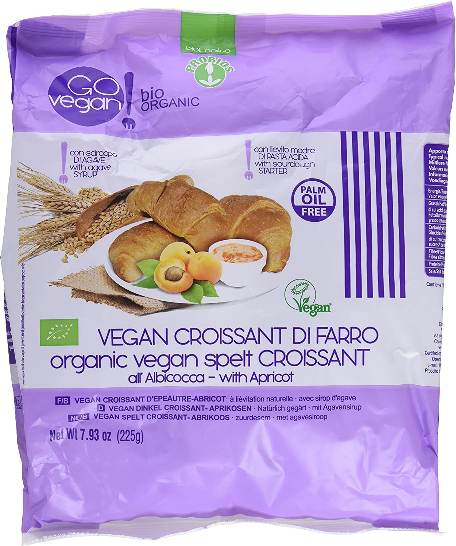 Probios Go Vegan Croissant de Espelta con Mermelada de Albaricoque ...