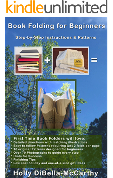 Alpaca Gifts  Book folding patterns  Folded book art  DIY gift ideas  For beginners  134 folds  Measure and mark  With manual