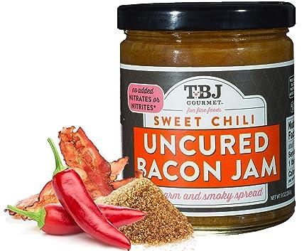 Amazon.com : TBJ Gourmet Classic Bacon Jam - Original Recipe Bacon Spread - Uses Real Bacon, No Preservatives - Authentic Bacon Jams - 9 Ounces : Grocery ...