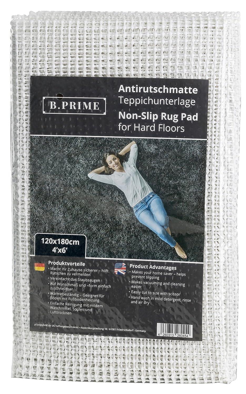 B.PRIME 80x200 cm Base Antideslizante Pr/émium I Base para Alfombra I Alfombrilla Antideslizante I Base I protecci/ón Antideslizante para alfombras