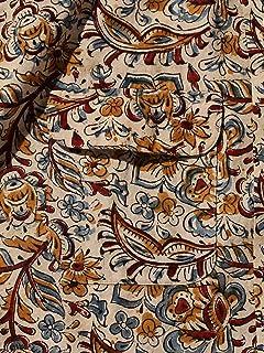 Block Print Short Sleeve Camp Shirt 11-01-1075-139: Beige