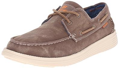 Mens Status-Melec Boat Shoes Skechers e7rXCIQRK3