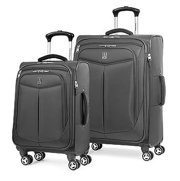 f36fdafcb Amazon.com | Travelpro Inflight 2 Piece Spinner Luggage Set, Black |  Luggage Sets