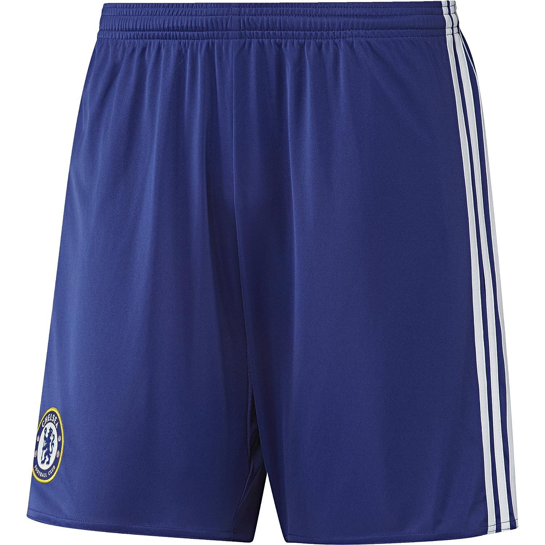 adidas Chelsea FC 2015/16 H SHO Pantalón Corto, Hombre: Amazon.es ...
