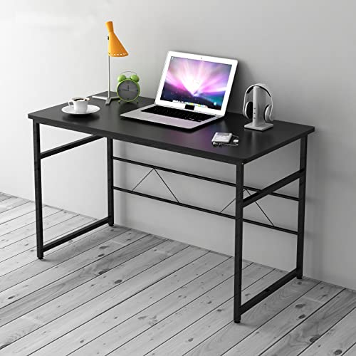 Simple Modern Office Desk Portable Computer Desk Home: Tribesigns Modern Simple Style Computer PC Laptop Desk