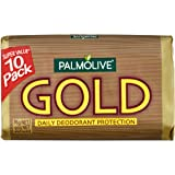 Palmolive Gold Bar Soap Daily Deodorant protection 10 pack x 90g
