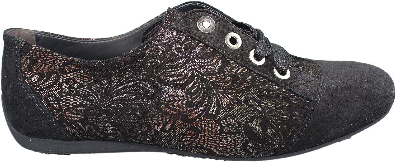 Semler - Zapatos de cordones para mujer negro negro 38,5
