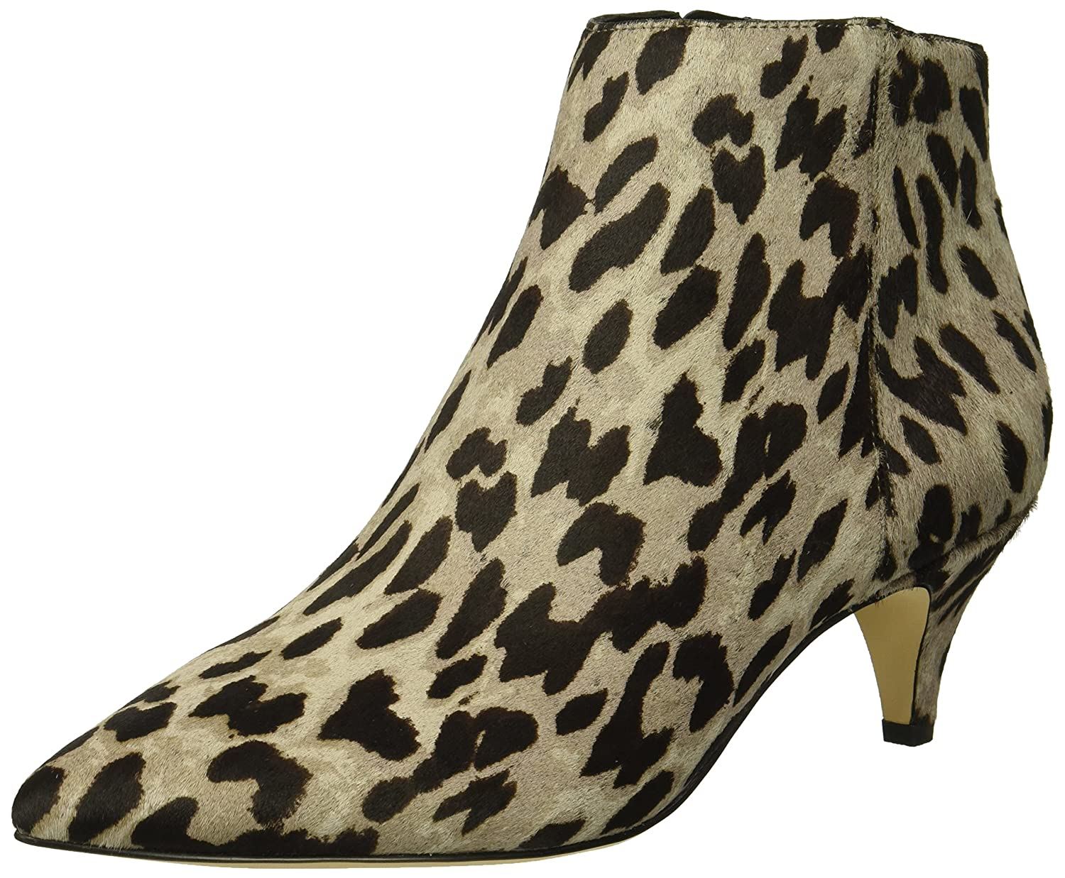 Sam Edelman Women's Kinzey Fashion Boot B07BR9VRK5 7.5 W US|Grey/Multi Leopard