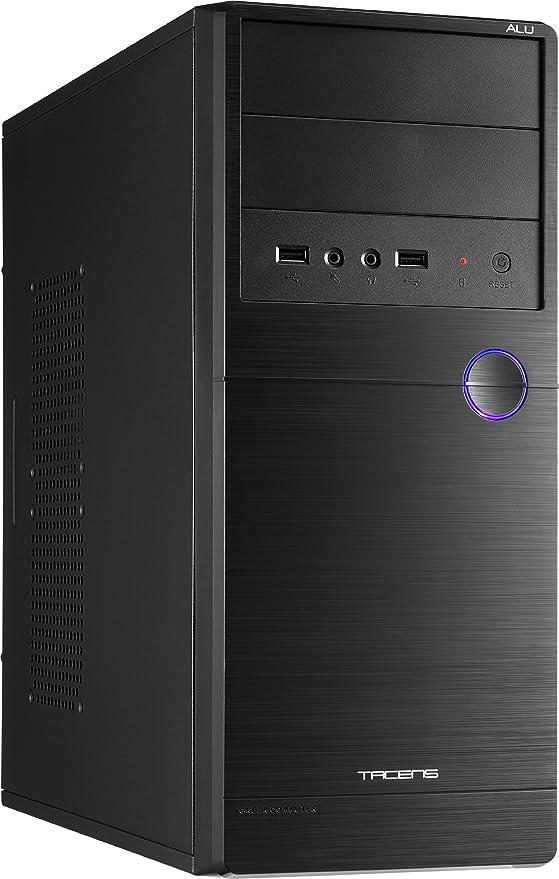Tacens 2ALUM - Caja de ordenador (ventilador 80 mm, USB 2.0 y ...