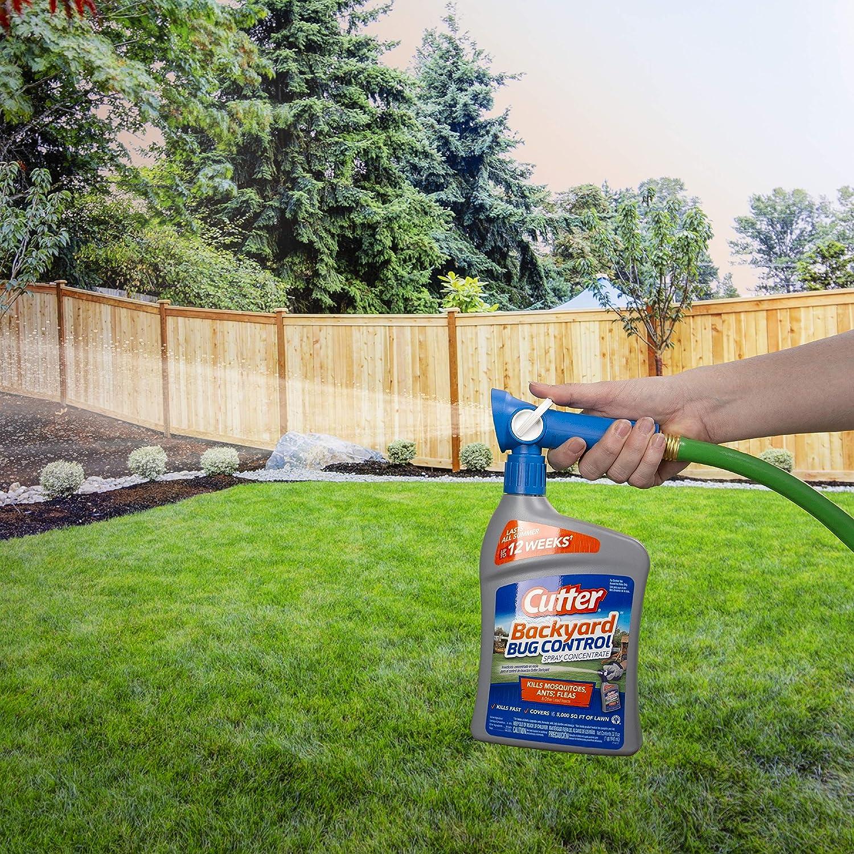 Cutter Backyard Bug Control Spray Concentrate, 32-Ounce | eBay