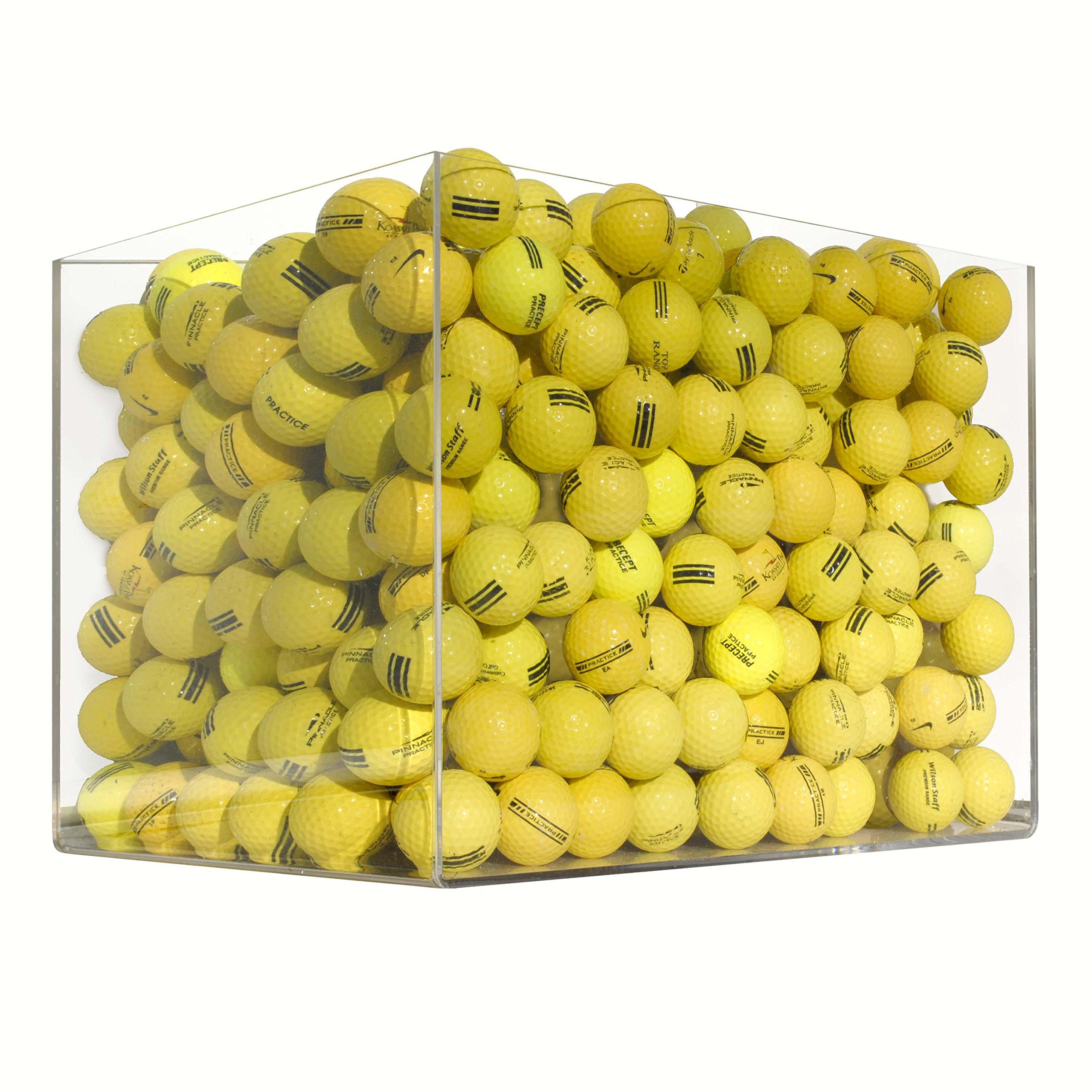 500 Range Yellow Mix - Practice Grade (Shag) - Recycled (Used) Golf Balls