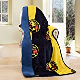 Club America Silk Touch Sherpa Lined Throw Blanket 50x60""
