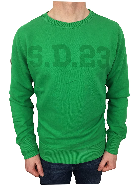 Superdry Herren Sweatshirt grün Felt Grün