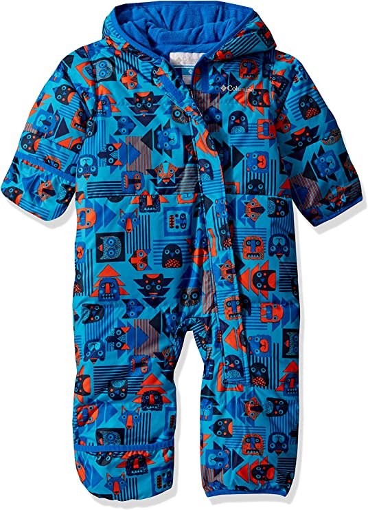 Columbia Kids Snuggly Bunny Bunting - Super Blue Critter Block, 18/24,Columbia,1516331